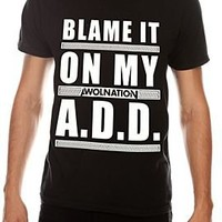 Awolnation Blame It On My A.D.D. Slim-Fit T-Shirt - 969664
