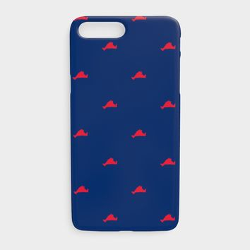 Martha's Vineyard Cell Phone Case iPhone 7Plus / 8Plus - Red on Navy