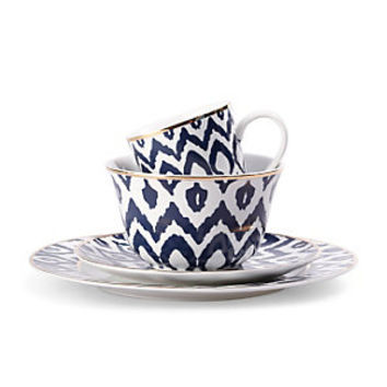 Navy Ikat Dinnerware | Tabletop | Home & Decor | Categories | C. Wonder