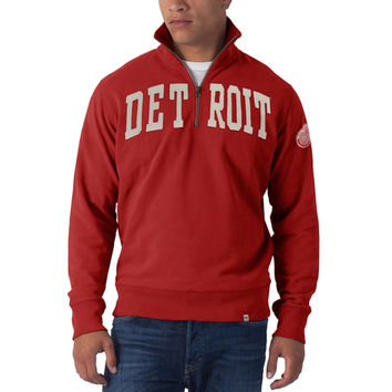Detroit Red Wings - Striker 1/4 Zip Premium Sweatshirt