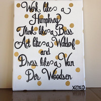 Gossip Girl Canvas Painting