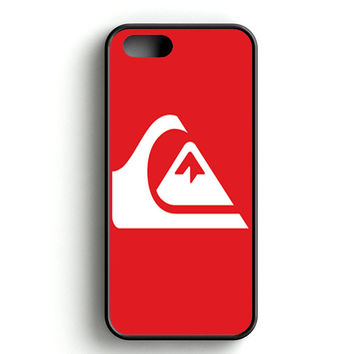 Quiksilver Logo Red iPhone 4s iPhone 5s iPhone 5c iPhone SE iPhone 6|6s iPhone 6|6s Plus Case