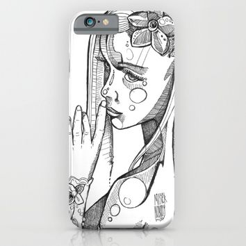 """The Secret"" Ink Sketch draw iPhone & iPod Case by mrnobody"