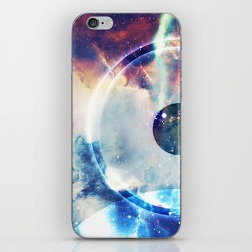 On the Biggest Moon iPhone & iPod Skin by Adaralbion