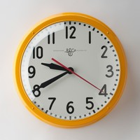 Schoolhouse Electric Clock 17.5"
