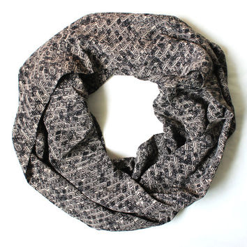 grey scarf,infinity scarf, scarf, scarves, long scarf, loop scarf, gift