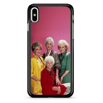Golden Girls And Tv Shows iPhone X Case