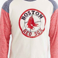 Boston Red Sox Triad Raglan Tee- Red
