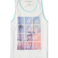 Aeropostale  LA Blocks Graphic Tank