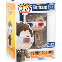 Funko Doctor Who Pop! Television Tenth Doctor (3D Glasses) Vinyl Figure Hot Topic Exclusive