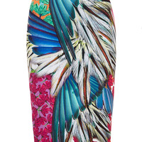 Carnival Printed Neoprene Reversible Skirt