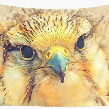 'Falcon bird #falcon #bird #animals' Wall Tapestry by JBJart