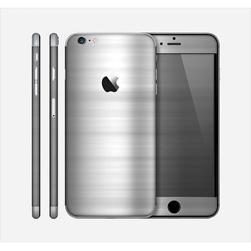 The Brushed Metal Surface Skin for the Apple iPhone 6 Plus