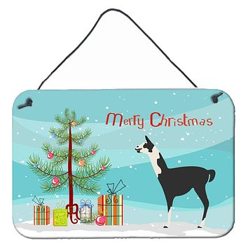 Llama Q' Ara Christmas Wall or Door Hanging Prints BB9285DS812
