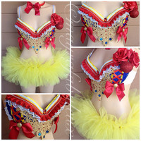 Snow White Outfit (3 pieces)  - Mayrafabuleux Original Design