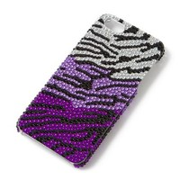 Bling Zebra iPhone 5 Cover  | Claire's
