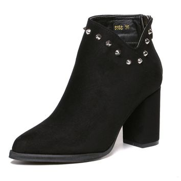 Melody Studded Ankle Boots
