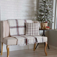 Amory Plaid Pillow
