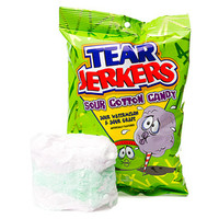 Tear Jerkers Sour Cotton Candy Packs: 24-Piece Case