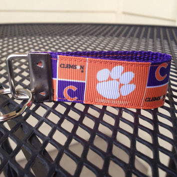 Clemson Tigers Inspired Keychain Fob