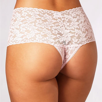 Hanky Panky Signature Lace Retro Thong Panty 9K1926 at BareNecessities.com