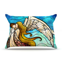 "Mandie Manzano ""In the arms of the Angel"" Pillow Case"