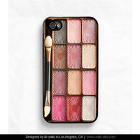 Eyeshadow Makeup Set iPhone Case - iPhone 4 case iPhone 4s case