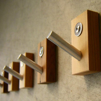Multipurpose - Wall Coat Hooks - Kitchen Hooks - Modern Design - 5 Pieces