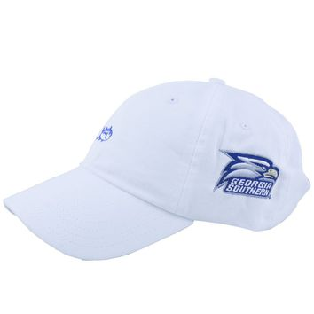 Georgia Southern Collegiate Skipjack Hat in White by Southern Tide
