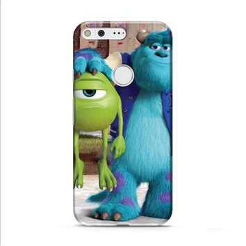 Monsters Inc sulley holding mike Google Pixel 2 Case
