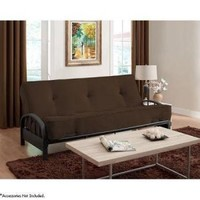 "Aiden Futon Frame with 8"" Innerspring Full Futon Mattress, Multiple Colors - Walmart.com"