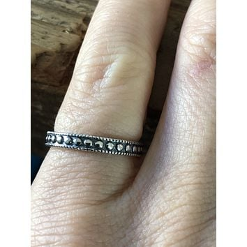 SAMPLE SALE Sterling Silver Stacking Rings