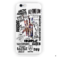 All Band Logo And 5 Seconds Of Summer For iPhone 6 / 6 Plus Case