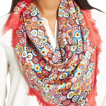Tory Burch Millefiore Square Silk Scarf | Nordstrom