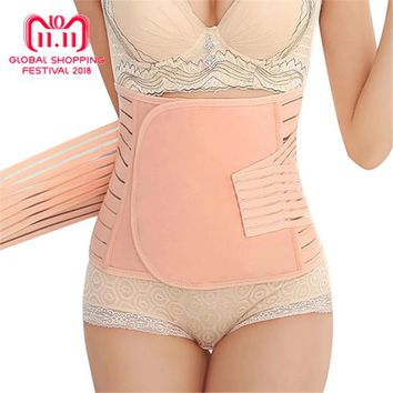 Little J Postpartum Belly Band Pregnancy Belt Maternity Abdominal Recovery Bandage Body Shaper Corset Slim Modeling Girdle