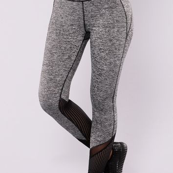 Sydney Active Leggings - Grey