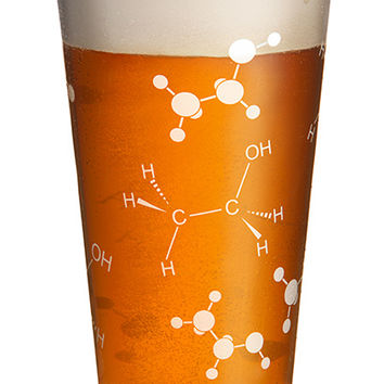 Ethanol Beer Pint Glass