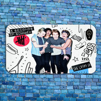 5 SOS iPhone Case Cute Boy Band Music Album Phone Cover Funny Pink Logo Adorable Case iPhone 4 iPhone 5 iPhone 4s iPhone 5s iPhone 5c Case