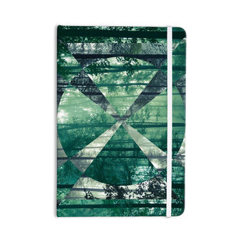 "Matt Eklund ""Foliage"" Green Geometric Everything Notebook"