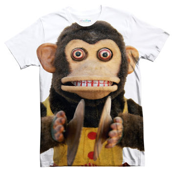 Creepy Cymbal Monkey Tee