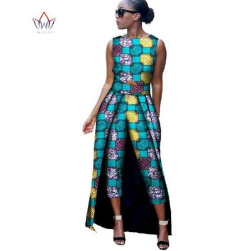 Print Jumpsuit  African Style