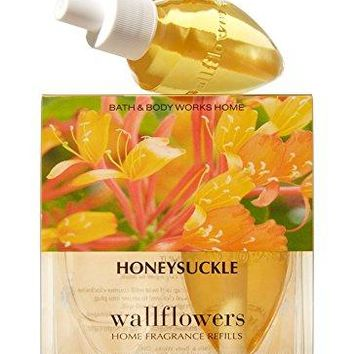 Bath & Body Works HONEYSUCKLE  Wallflowers 2-Pack Home Fragrance Refills