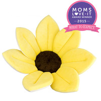 Blooming Bath Plush Baby Bath - Canary Yellow