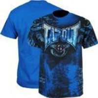 Tapout Blue Short Sleeve Poison T-shirt XXL