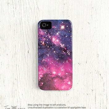 Galaxy iPhone 4 case - Galaxy iPhone 5 case, Galaxy iPhone 4s case, nebula iphone 4 4s case space iphone 5 case 3d print (c69)