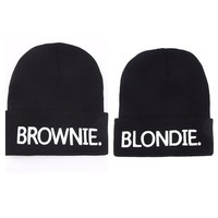 Brownie + Blondie Beanie