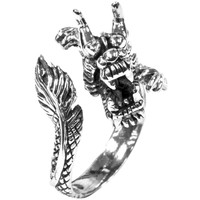 Wrap Around Dragon .925 Sterling Silver Ring