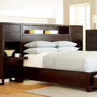 Tahoe Noir Wall Bedroom Furniture Sets & Pieces - Bedroom Furniture - furniture - Macy's