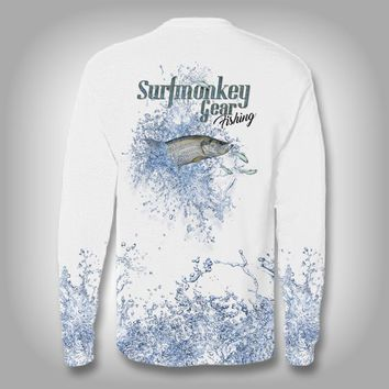 Tarpon Explosion -Solar Performance Long Sleeve Shirts - Fishing Shirt