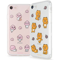 Genuine Kakao Friends UV Clear Jelly Case Galaxy S8 Case Galaxy S8 Plus Case